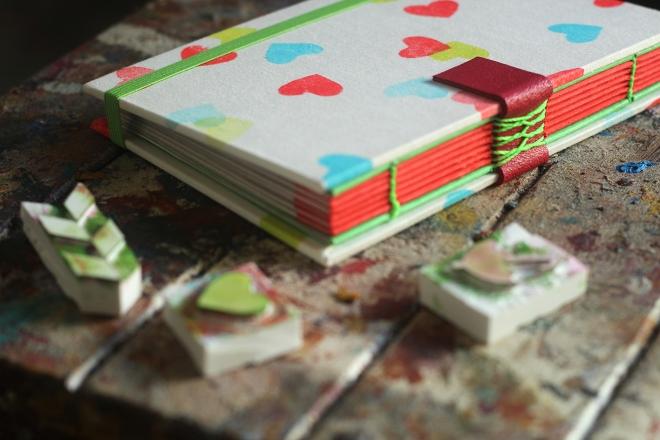 Cadernos especiais, feitos à mão (4)