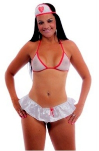 18 - Mini Fantasia Enfermeira